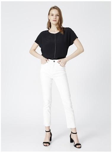 Fabrika Comfort Fabrika Comfort Beyaz Kadın Denim Pantolon Beyaz